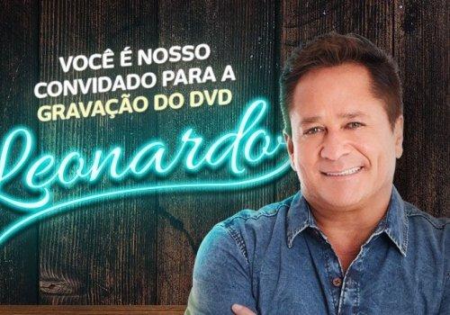 Leonardo grava DVD em São Paulo